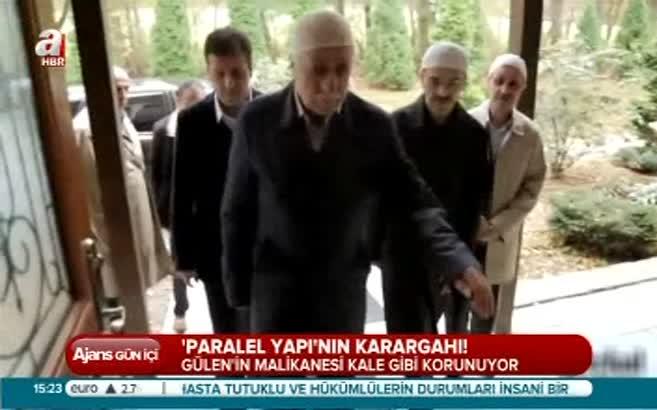 İşte Gülen'in malikanesi!
