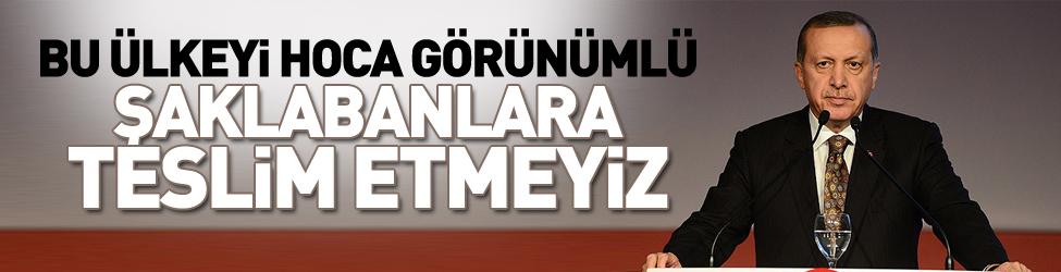 Cumhurba�kan� Erdo�an Konya'da konu�tu