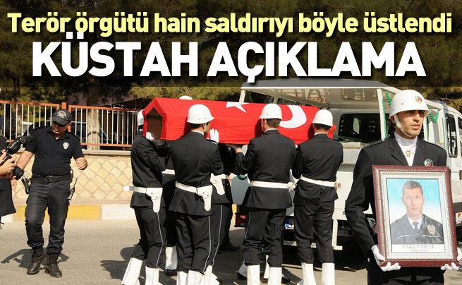 PKK hain saldırıyı böyle üstlendi!