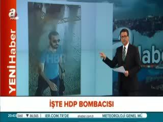 ��te HDP'ye sald�r�s�n� yapan teröristin ilk görüntüsü