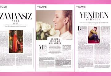 Harper's Bazaar Türkiye mart sayısı