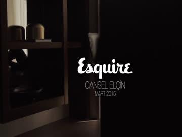 Esquire Türkiye Mart 2015 - Cansel Elçin