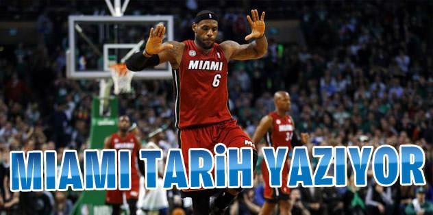 Miami Heat, gözünü rekora dikti
