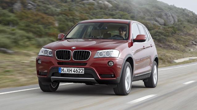 BMW X3'ü tamamen yeniledi