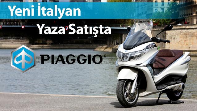 Piaggio X10 Yakında Türkiye'de!
