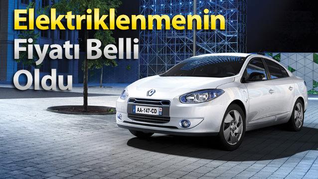 Neredeyse üretilen ilk araçtan bu yana süregelen elektrikli otomobil Renault Fluence Z.E.