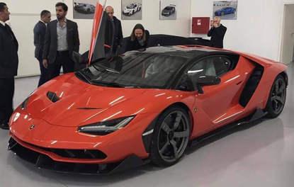 Arap şeyhinin yeni oyuncağı: Lamborghini Centenario