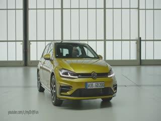 Makyajlı VW Golf'ün ilk videosu yayınlandı