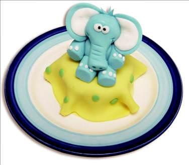 Fil figürlü pasta yapımı