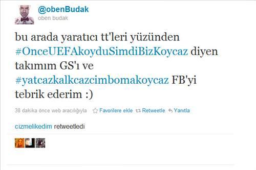 Twitter'da Galatasaray - Fenerbah�e g�ndemde