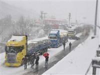 Ankara yolu ula��ma kapand�