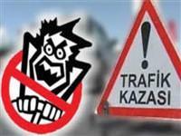 Akhisar'da trafik kazas�: 17 yaral�