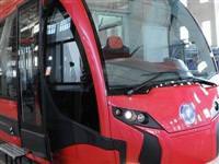 �lk yerli tramvay raylarda