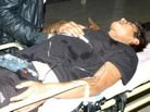 Halk otob�s� devrildi: 33 yaral�