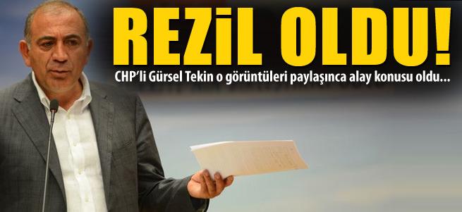 G�rsel Tekin t�m T�rkiye'ye rezil oldu!