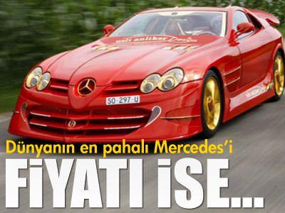 D�nyan�n en pahal� Mercedes'i