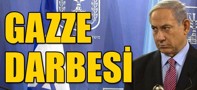 Netanyahu'ya Gazze darbesi