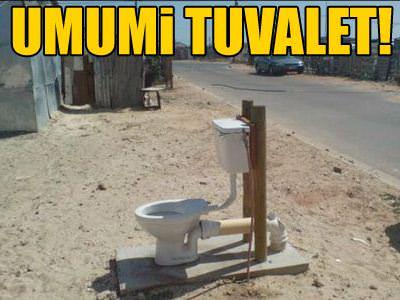 Umumi tuvalet!