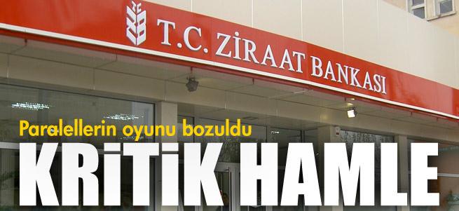 Ziraat Bankas� kat�l�m bankas� i�in BDDK'ya ba�vurdu