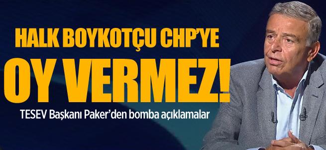 Halk boykot�u CHP'ye oy vermez