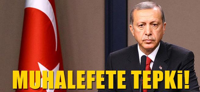 Cumhurba�kan� Erdo�an'dan muhalefete ta�!