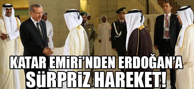 Erdo�an'�n makam arac�n� Katar Emiri kulland�