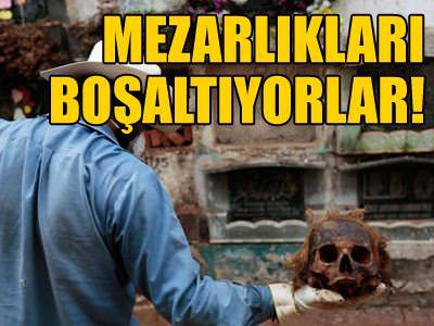 Guatemala'da paras� �denmeyen mezarl�klar bo�alt�l�yor