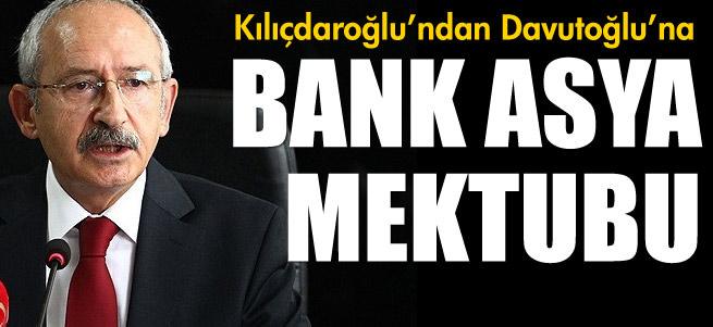 K�l��daro�lu'ndan Davuto�lu'na Bank Asya mektubu