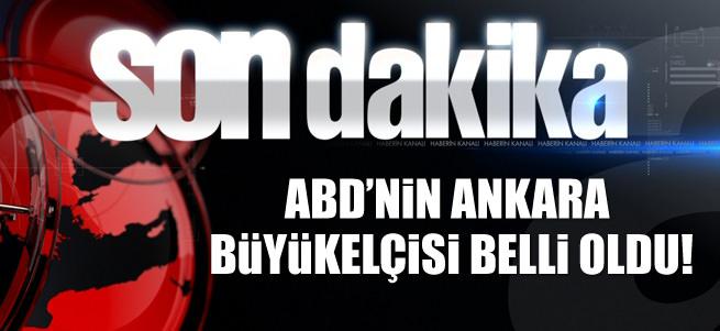 John Bass, resmen ABD'nin Ankara B�y�kel�isi