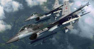 T�rk F-16'lar Azerbaycan'da