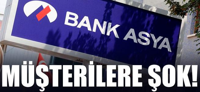 Bank Asya m��terilerine �ok!