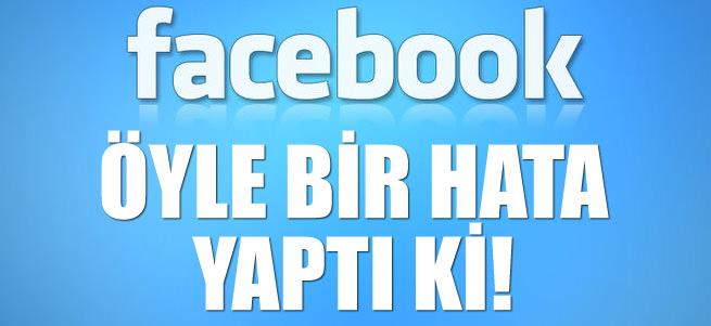 Facebook �z�r dilemek zorunda kald�