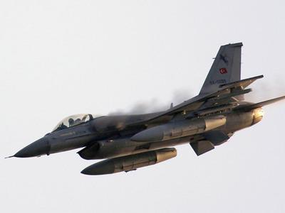 TSK: F-16'lar�m�z Suriye u�a��n�..