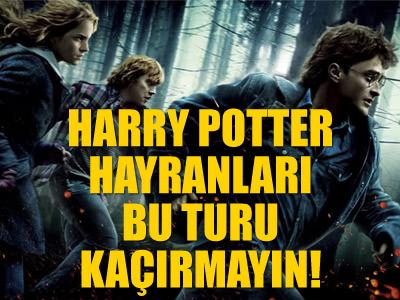 Warner Brothers St�dyolar�'nda Harry Potter turu