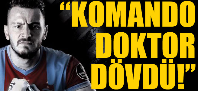 Trabzonsporlu Aykut Demir doktor d�vd� iddias�