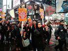Polis �iddeti ABD'de protesto edildi