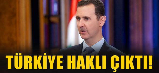 T�rkiye Esad konusunda hakl�!