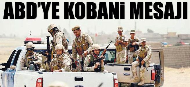 Ankara'dan ABD'ye Kobani mesaj�