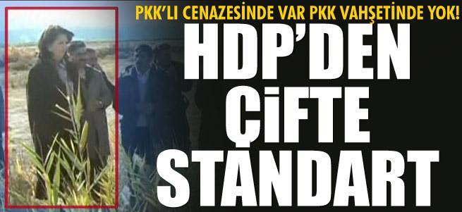 HDP'den �ifte standart