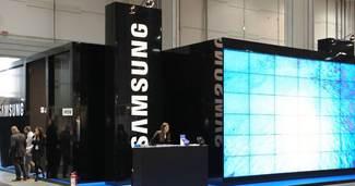 Samsung'un k�r�nda sert d����