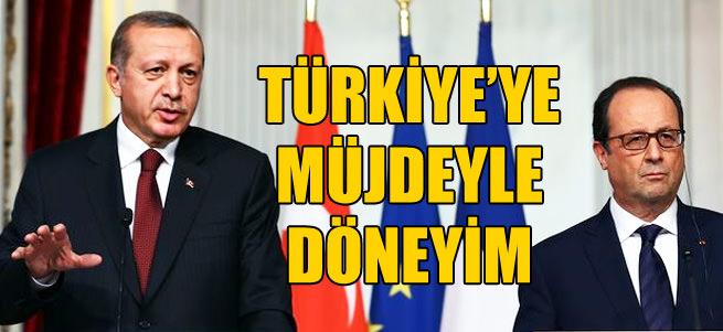 T�rkiye'ye m�jdeyle d�neyim