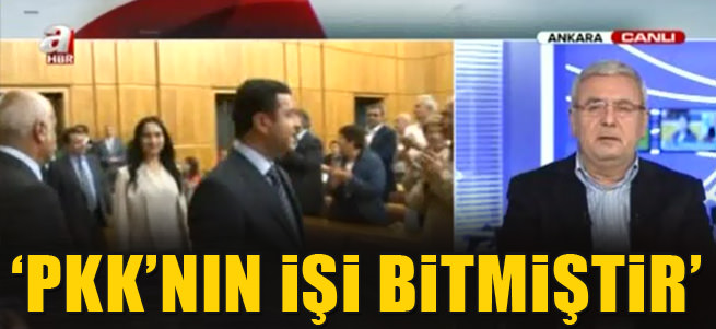 Mehmet Metiner: PKK'n�n i�i bitmi�tir