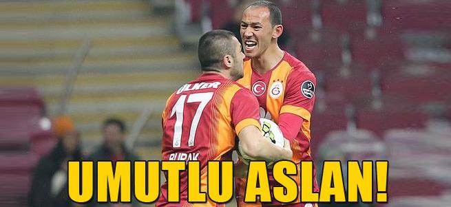 Galatasaray son dakikada kazand�!