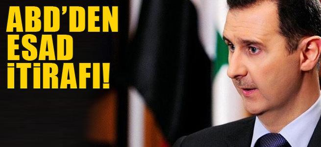 ABD'den Esad itifaf�!