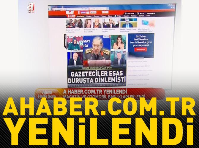 AHABER.COM.TR YENİLENDİ