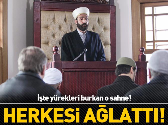 KERTENKELE'DE HERKESİ AĞLATAN SAHNE!