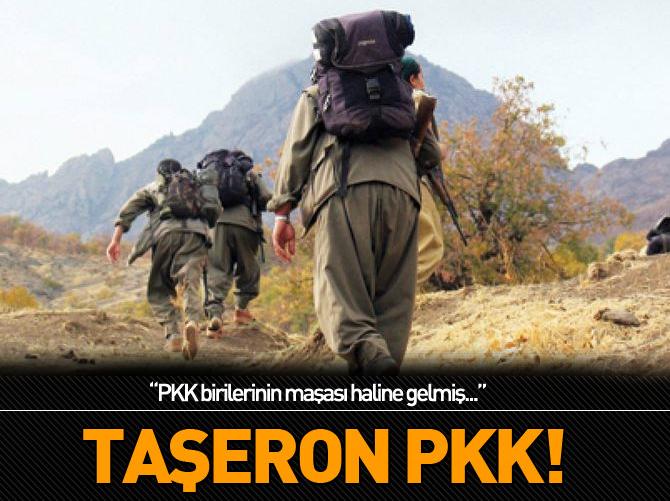 BAKAN ZEYBEKÇİ: PKK BİRİLERİNİN MAŞASI HALİNE GELMİŞ