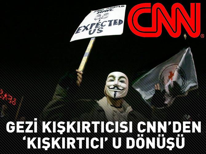 'GEZİ'Cİ CNN, FERGUSON'DA AĞIZ DEĞİŞTİRDİ