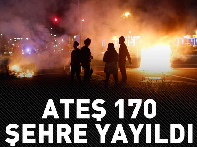 FERGUSON ATEŞİ 170 ŞEHRE YAYILDI