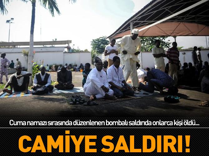 CAMİYE SALDIRI!
